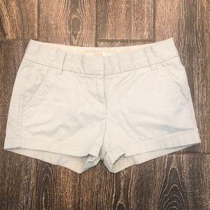 J. Crew Chino Khaki Women's Shorts Size 4